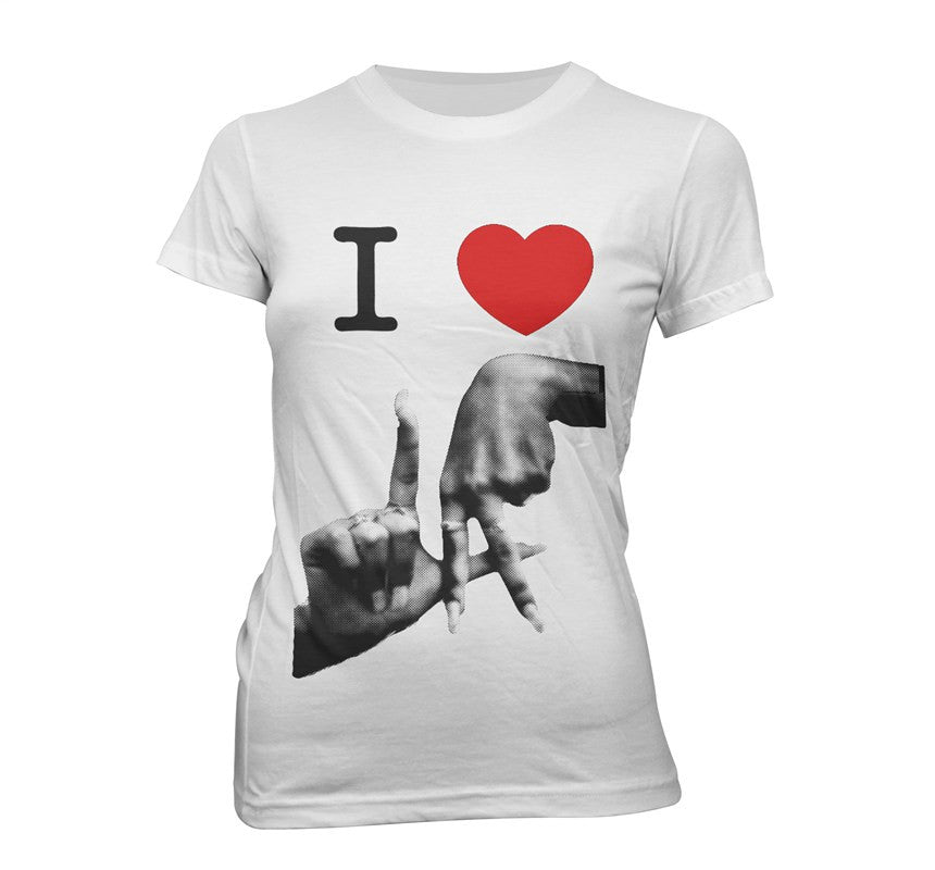 I love LA Women's White T-Shirt