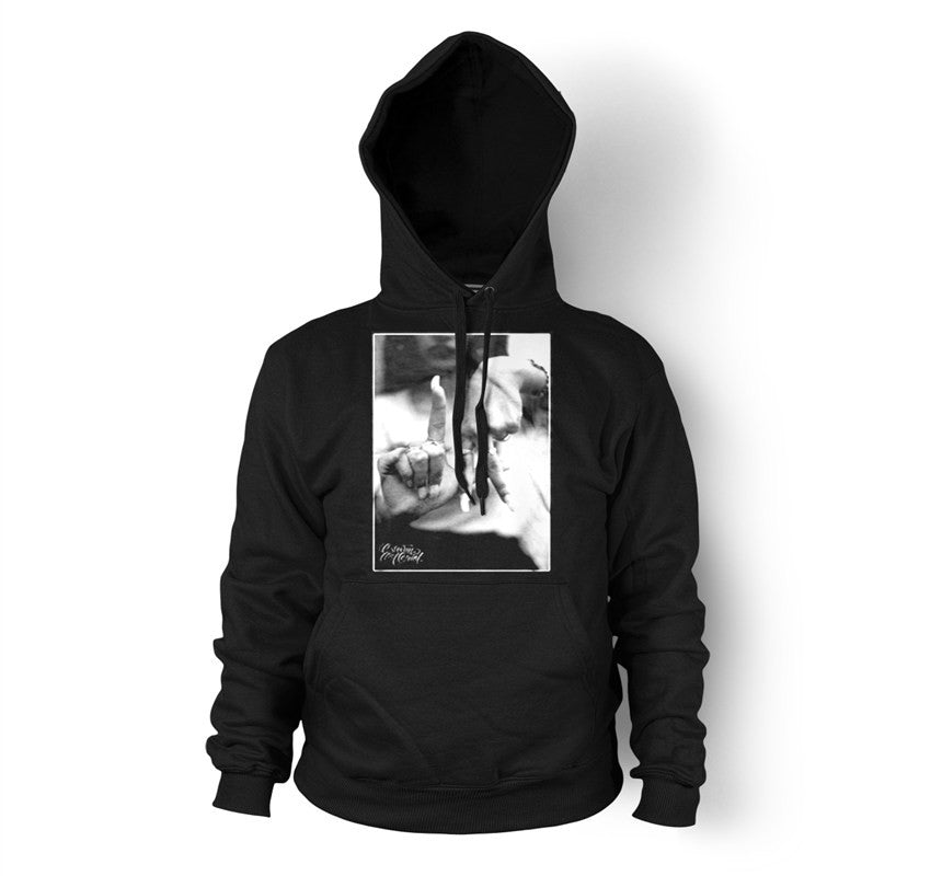 LA Hands Men's Black Pullover Hoodie