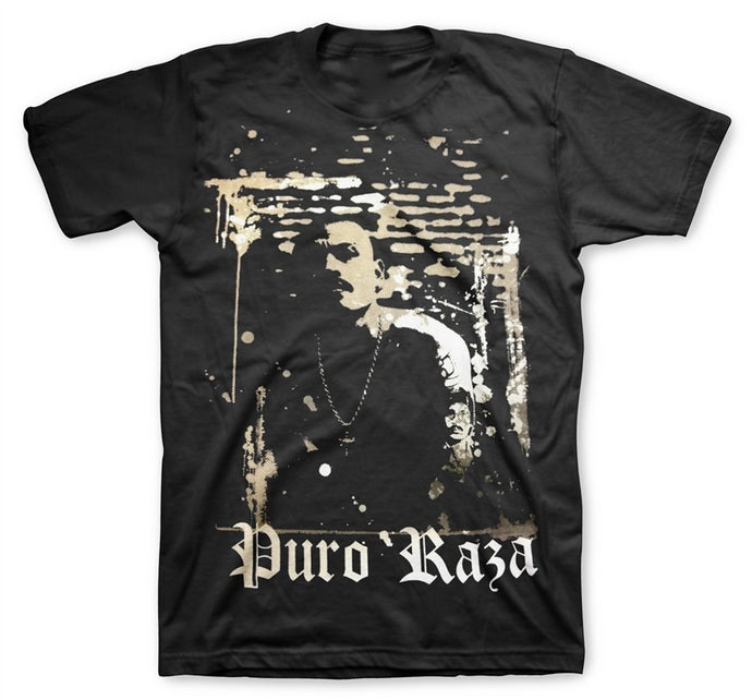La Raza Men's Black T-Shirt