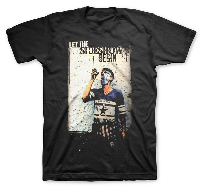Sideshow Men's Black T-Shirt