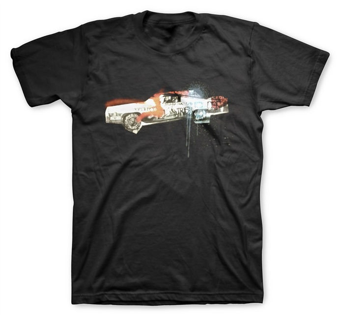 Graf Car Men's Black T-Shirt
