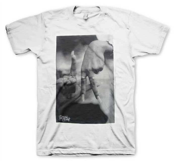 LA Hands Men's White T-Shirt