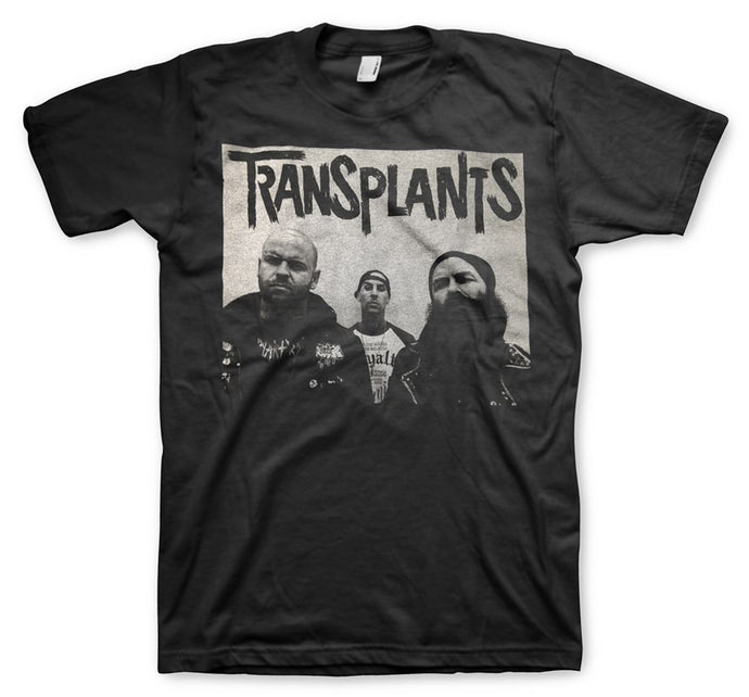 Transplants Men's Black T-Shirt