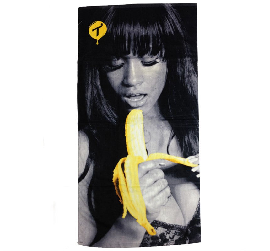 TITS X Estevan Oriol - Banana Girl Beach Towel