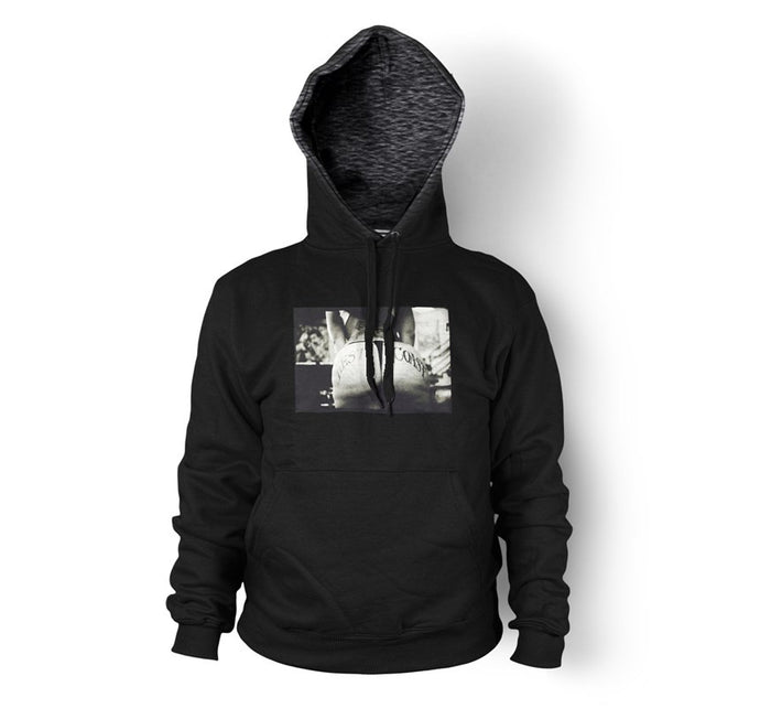 West Coast Men's Black Pullover Hoodie