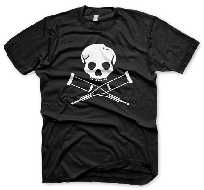 Skull & Crutches - Men's Tee