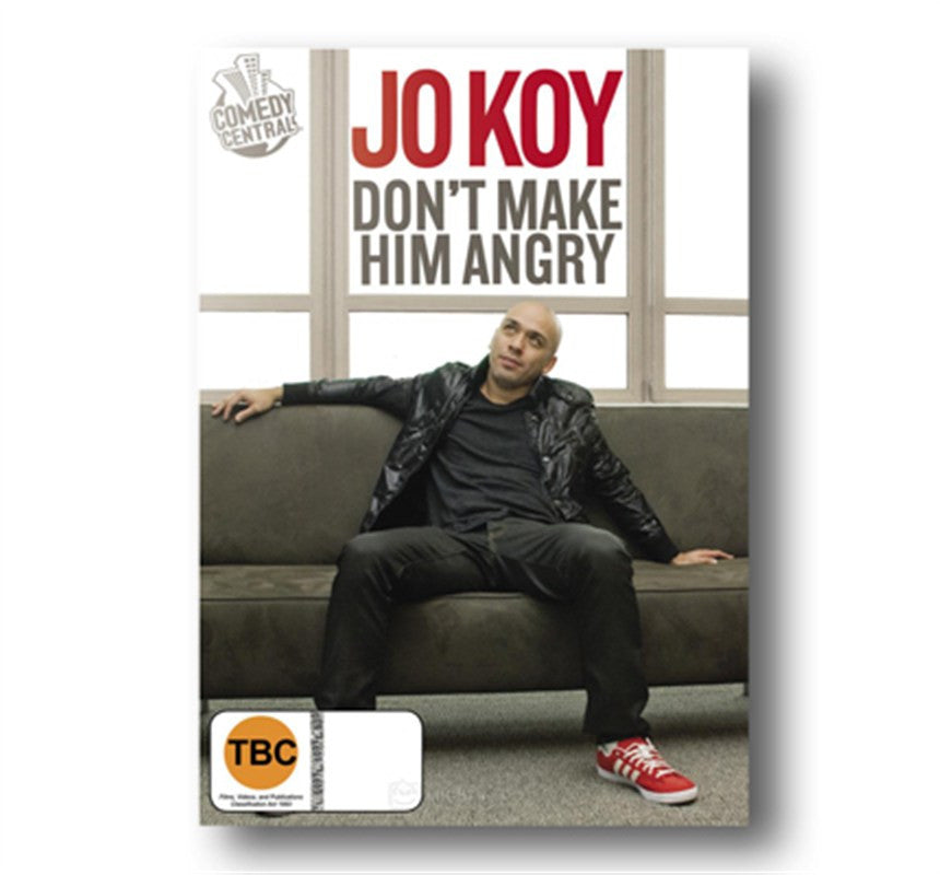 Jo Koy's Dont Make Him Angry DVD