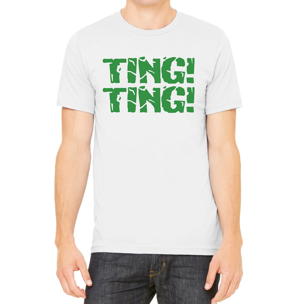 Ting Ting Men's Light Grey T-Shirt