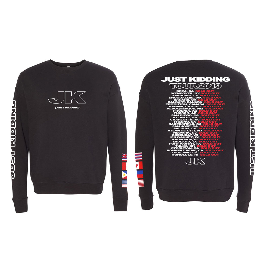 Just Kidding Crewneck