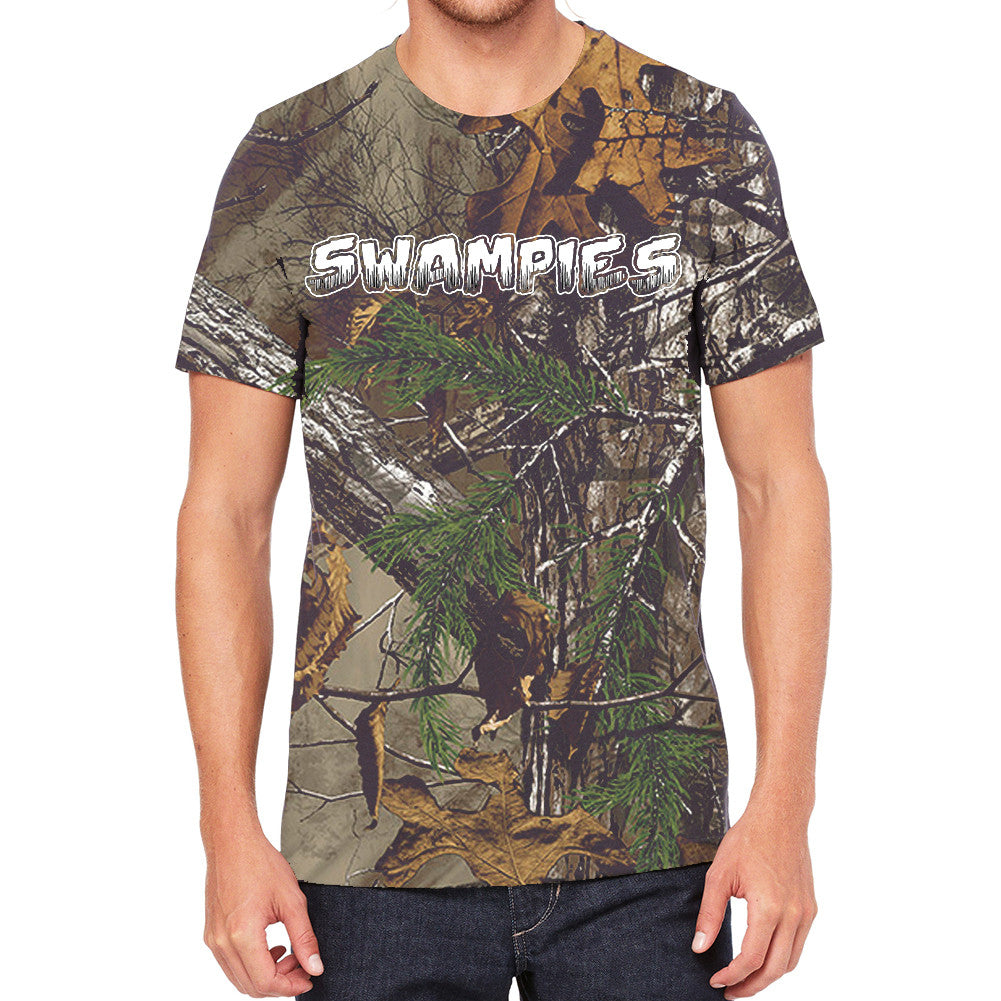 Swampies Real Tree Camo Men's T-Shirt