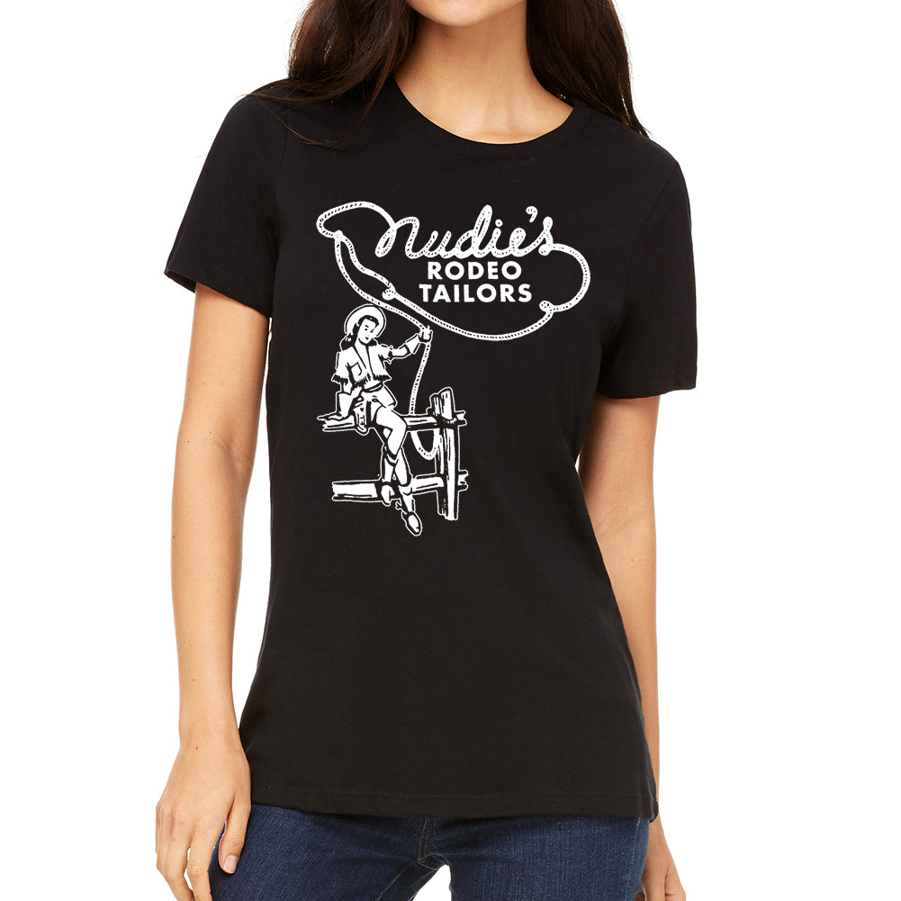 Clothed Cowgirl Women's Black T-Shirt