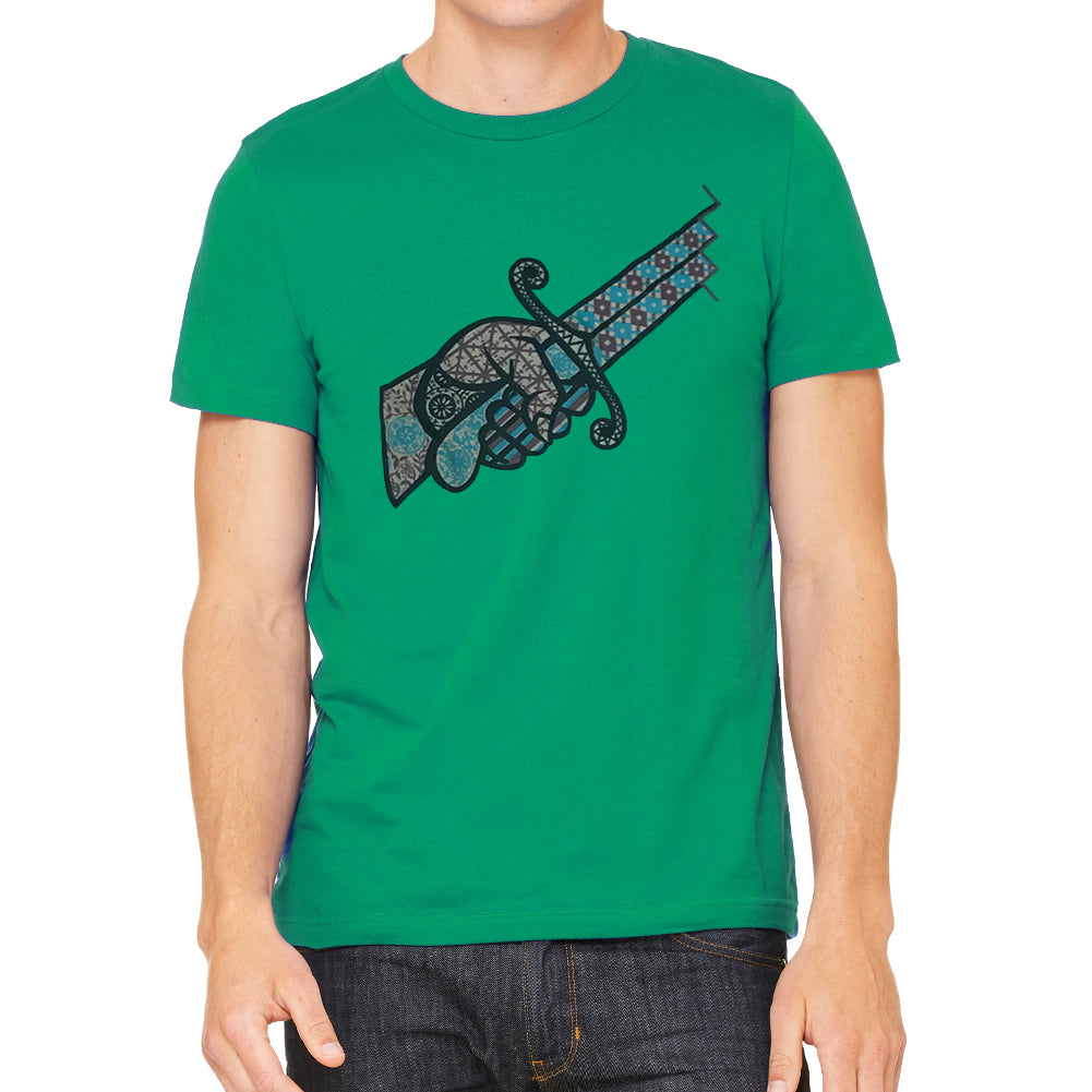 Stab My Back Men's Green Vintage T-shirt