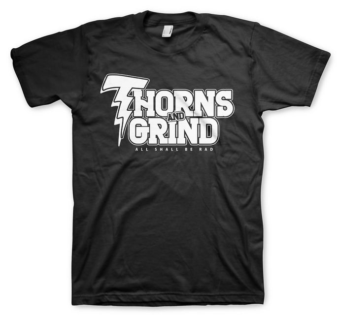 Thorns and Grind Men's Black T-Shirt