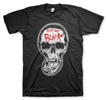 GGIB Pool Skull Men's Black T-Shirt
