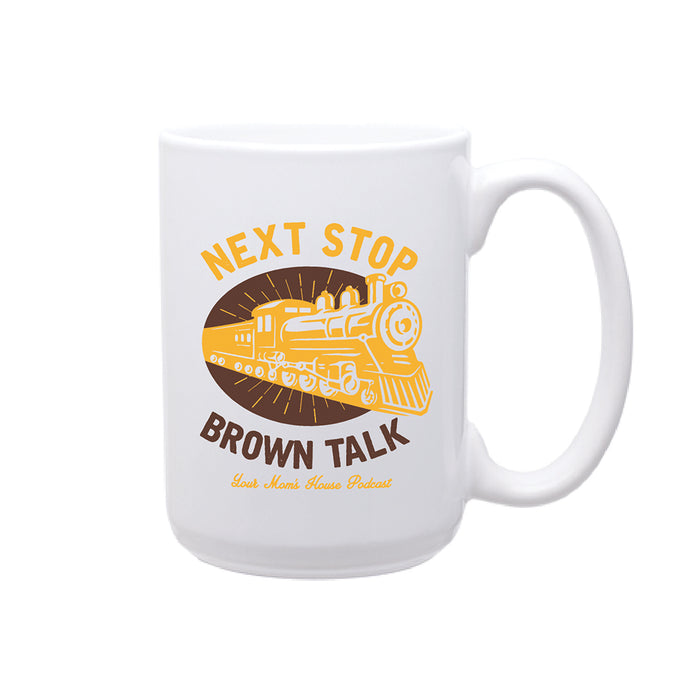 Brown Talk Mug
