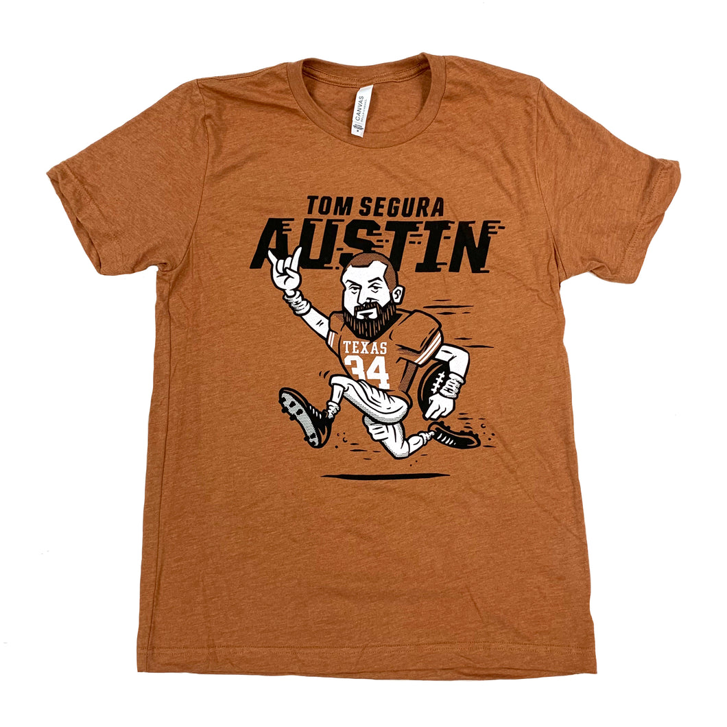 Austin TX Men's Burnt Orange Tee