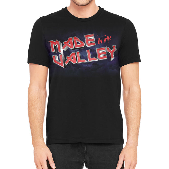 Maiden the Valley Men's Black T-Shirt