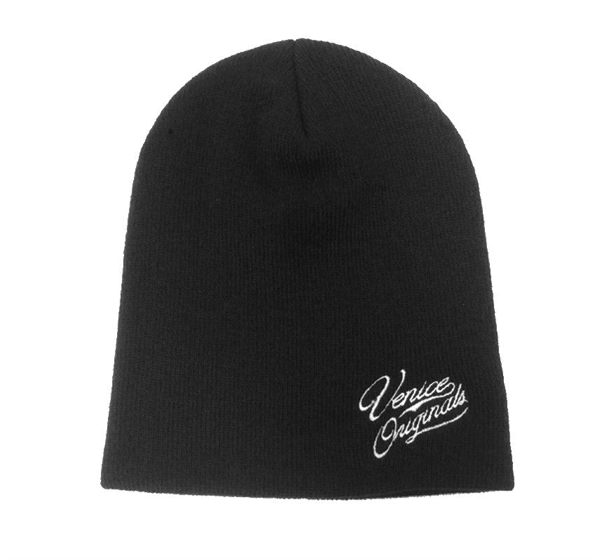 Venice Originals Black Beanie