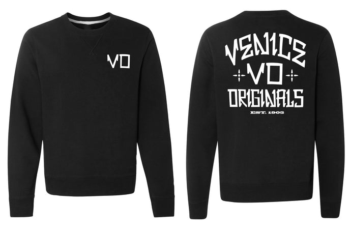 The VO Black Crewneck Sweatshirt