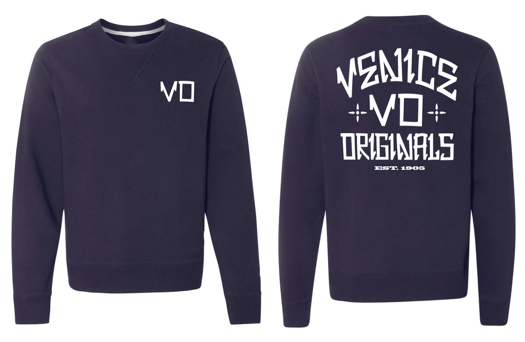 The VO Navy Crewneck Sweatshirt