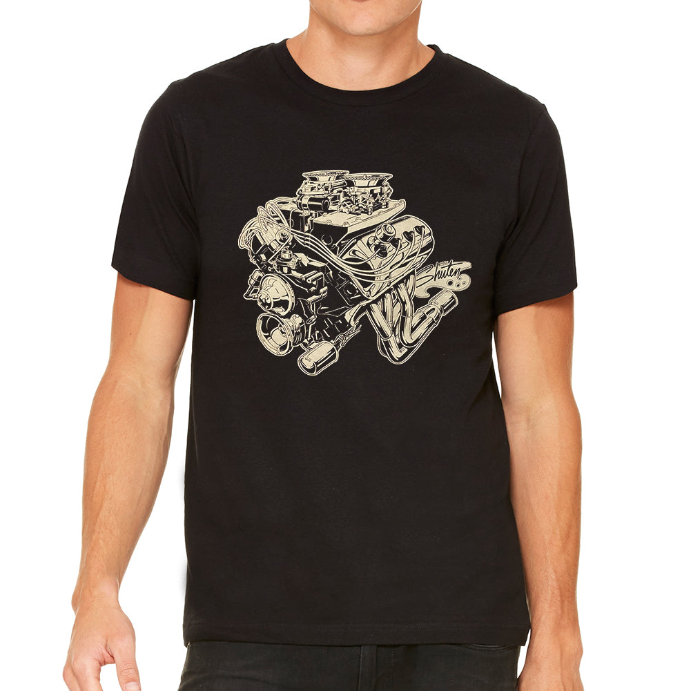 426 Hemi Men's Black Tee