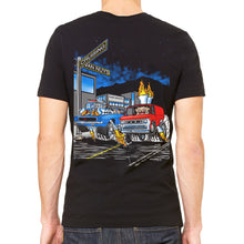 Cruisin' Van Nuys Men's Black Tee