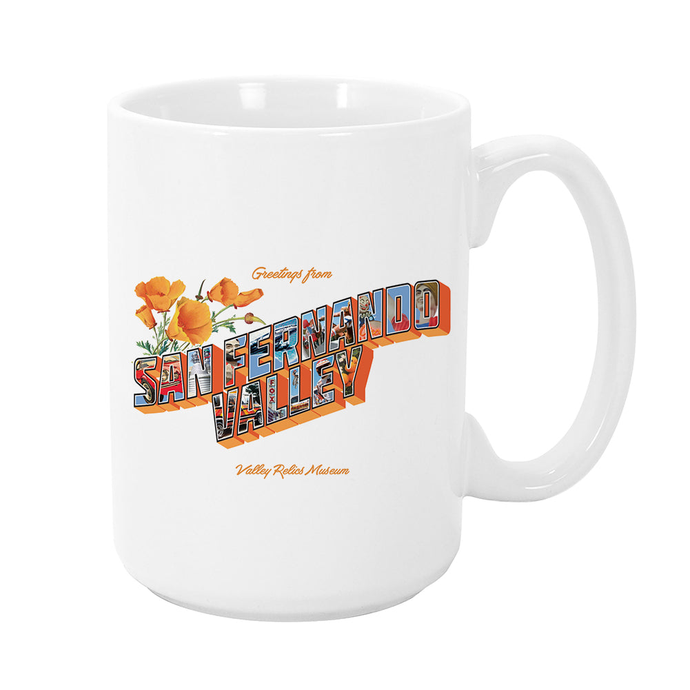 Greetings from SFV Mug