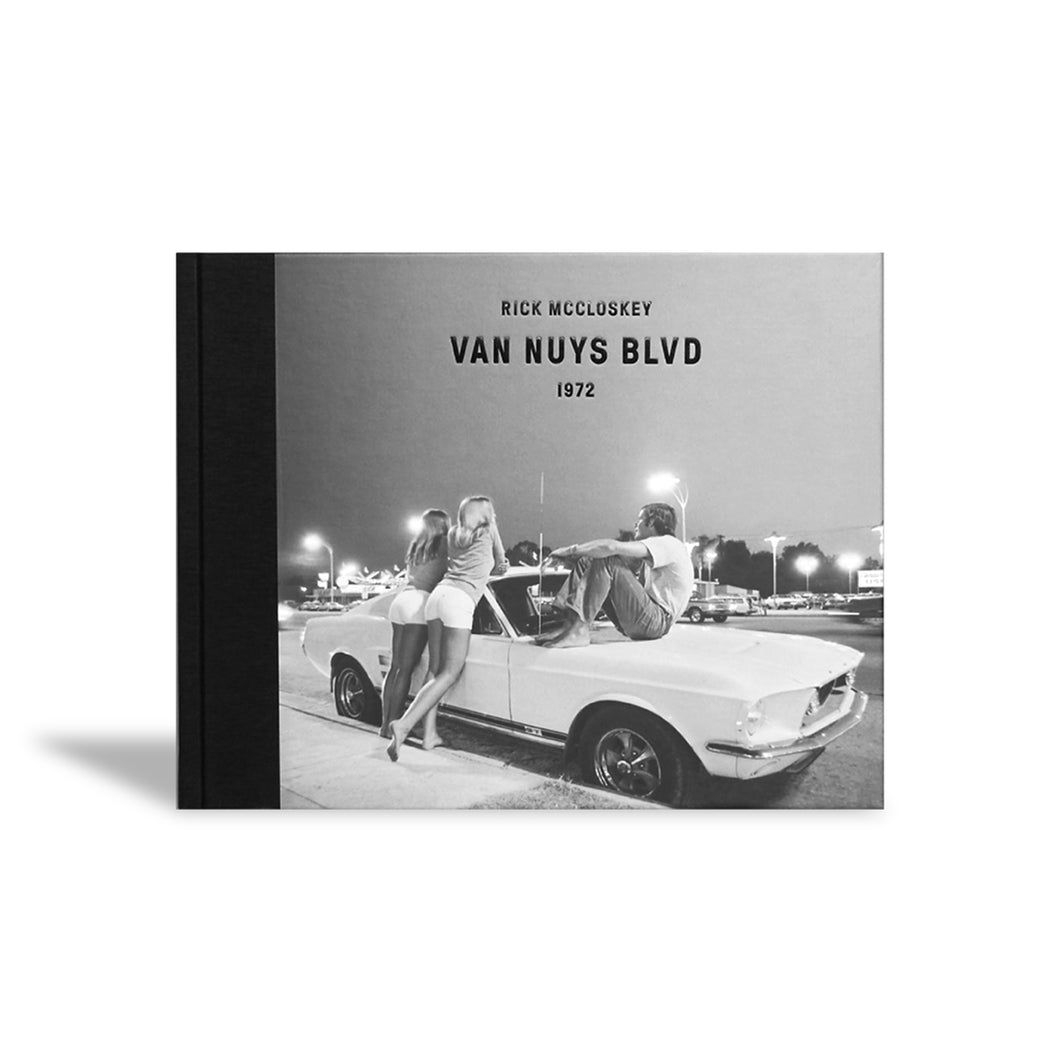 Van Nuys Blvd 1972 Book by Rick McCloskey