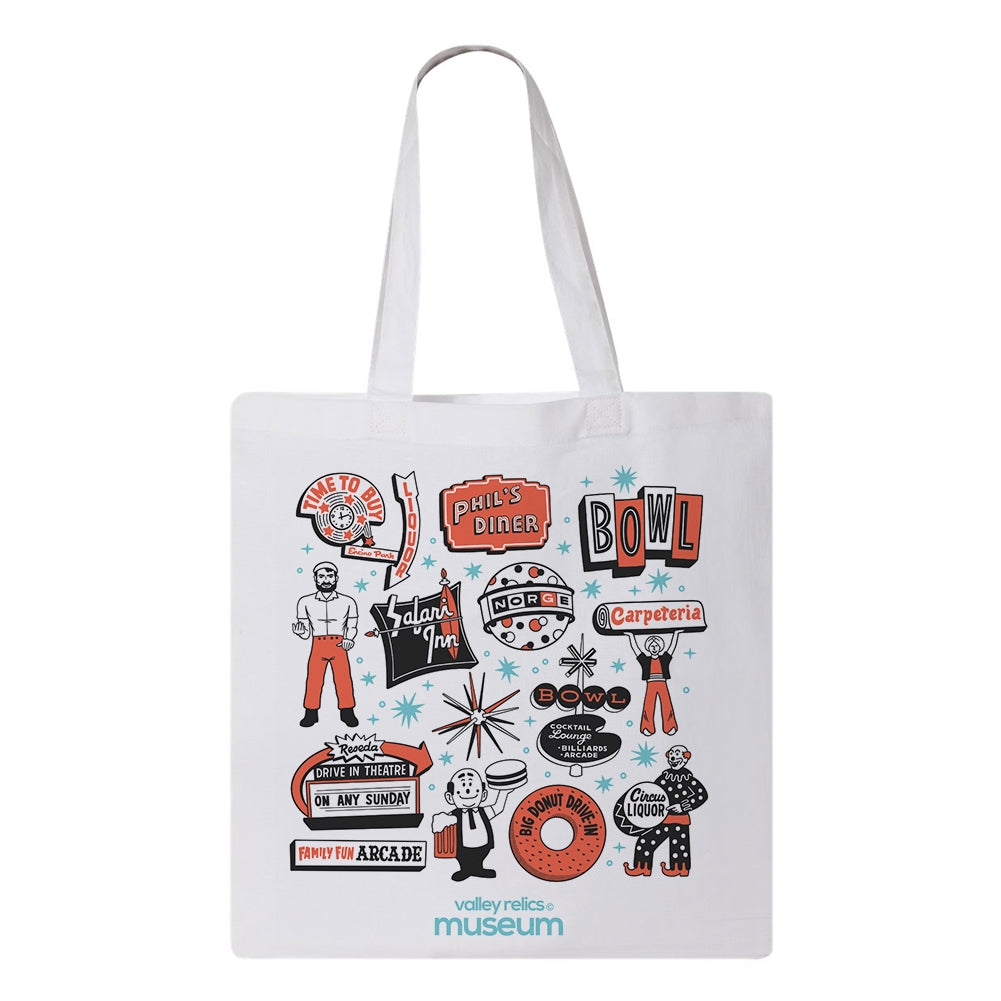 Roadside Attractions Tote Bag