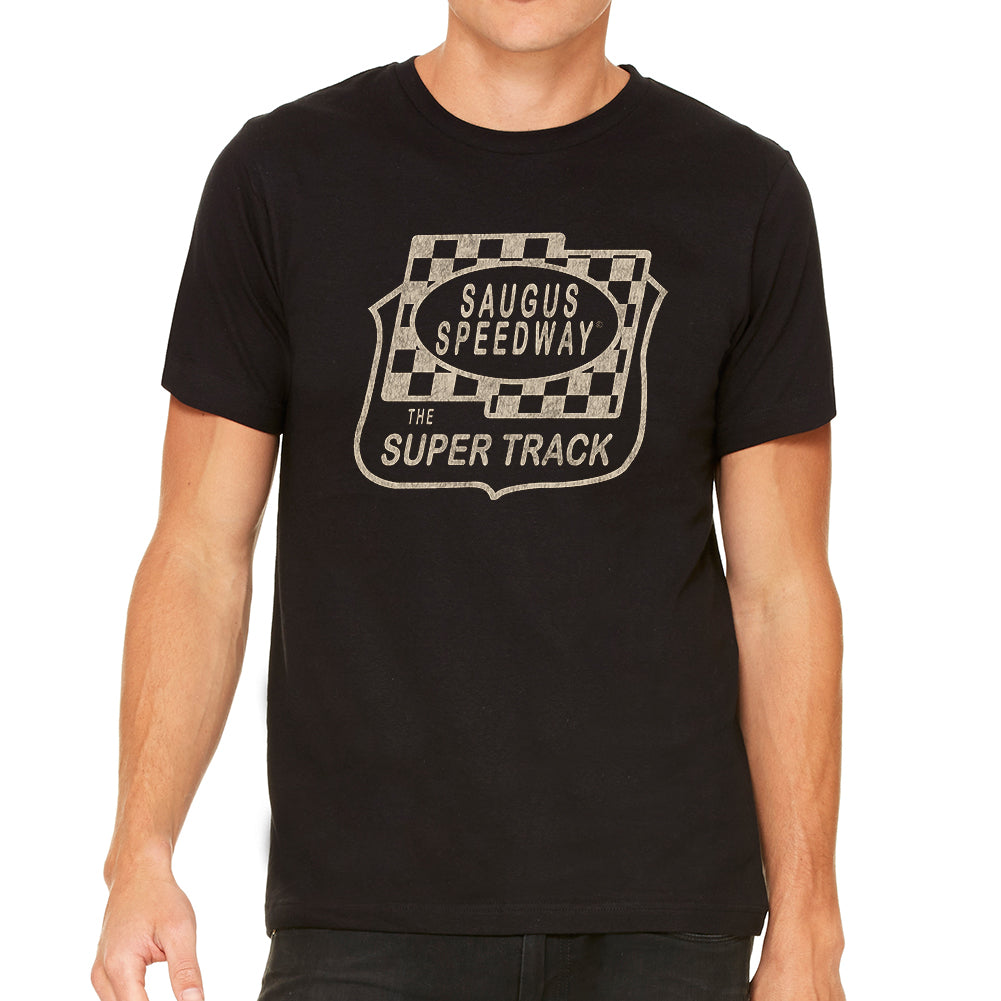 Saugus Speedway Vintage Style Soft Tee