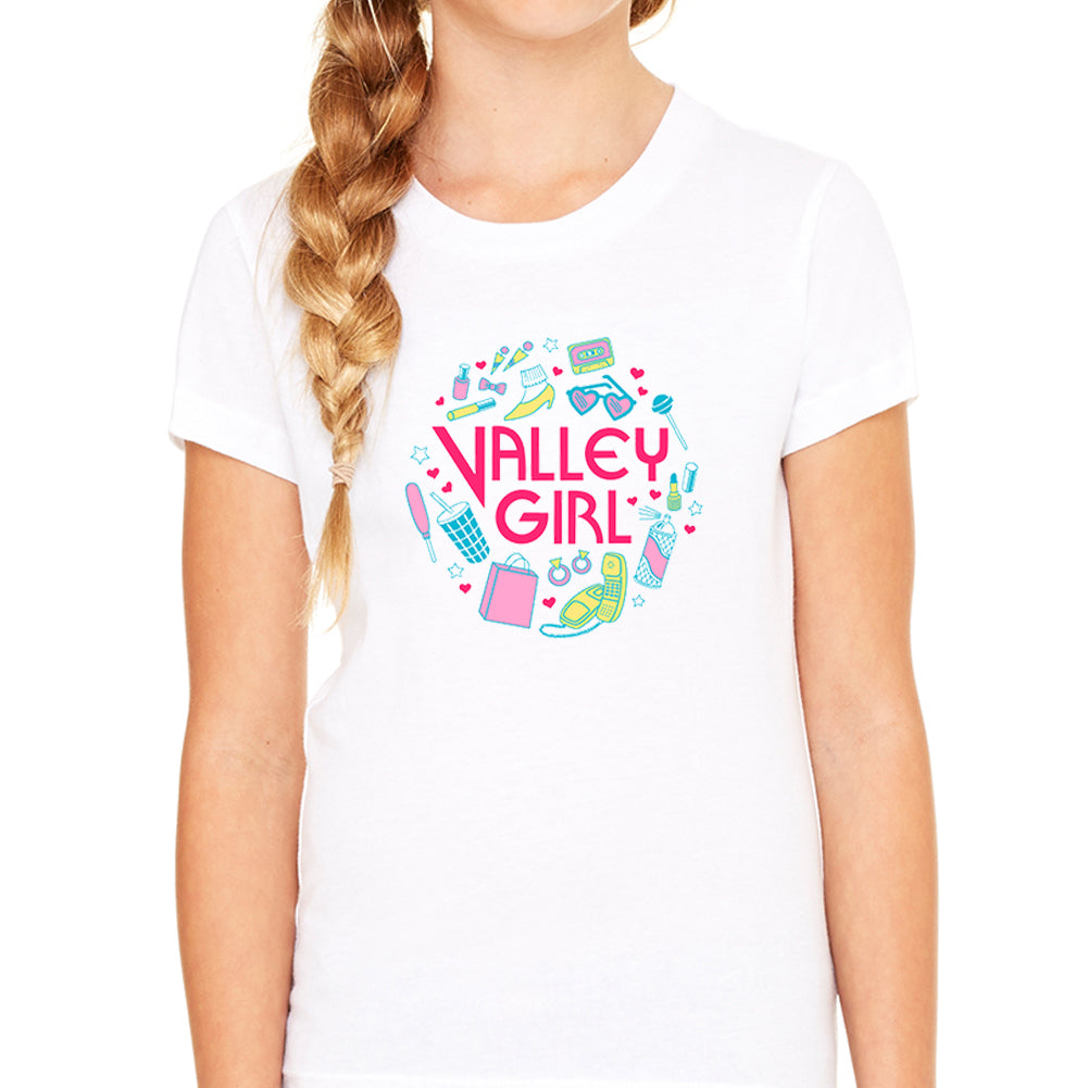 Valley Girl White Youth Tee