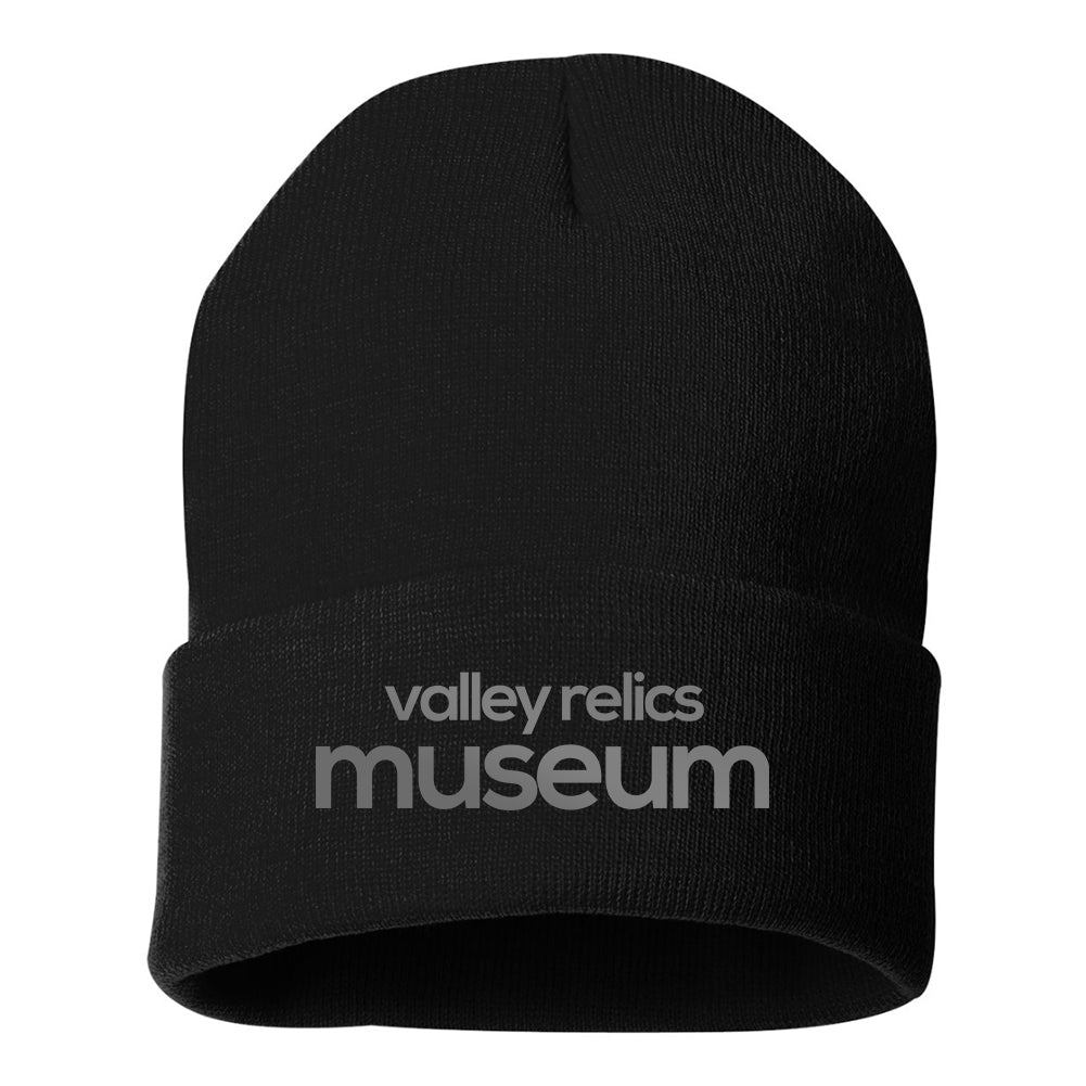 Valley Relics Black Beanie