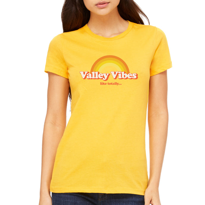 Valley Vibes Women's Gold Tee