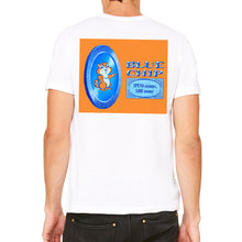 Blue Chip Men's White T-Shirt