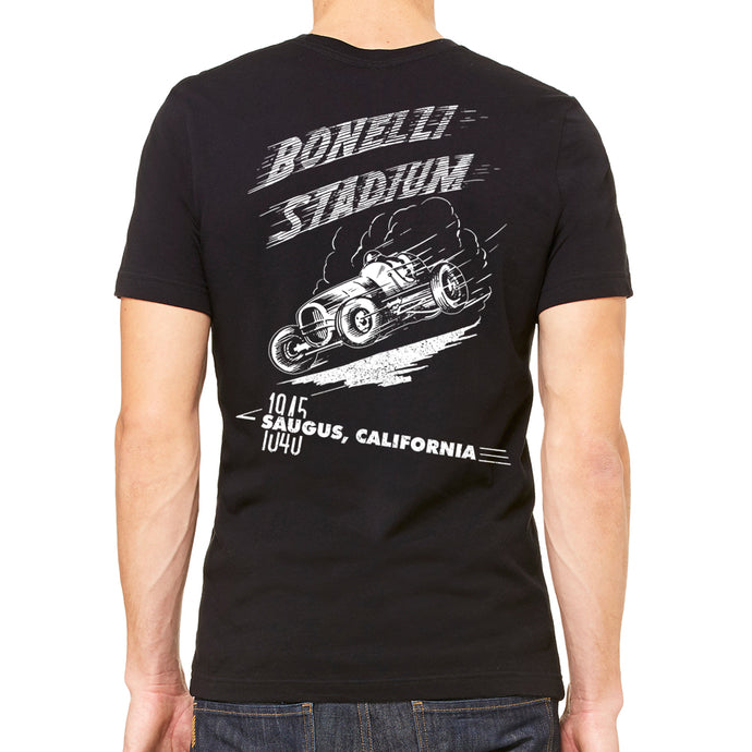 Bonelli Stadium Men's Black T-Shirt