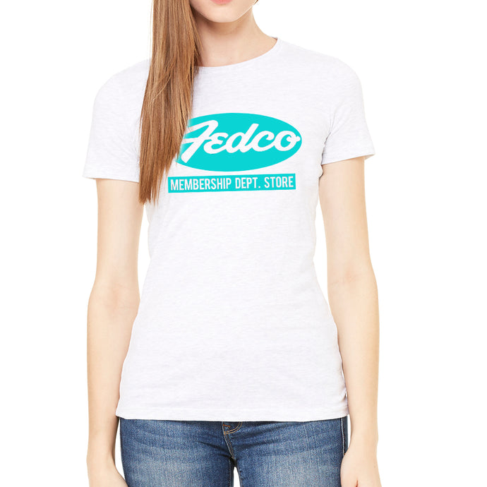 Fedco Women's White T-Shirt