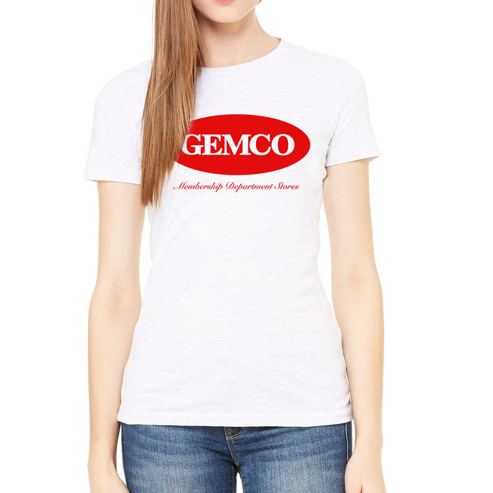Gemco Women's White T-Shirt