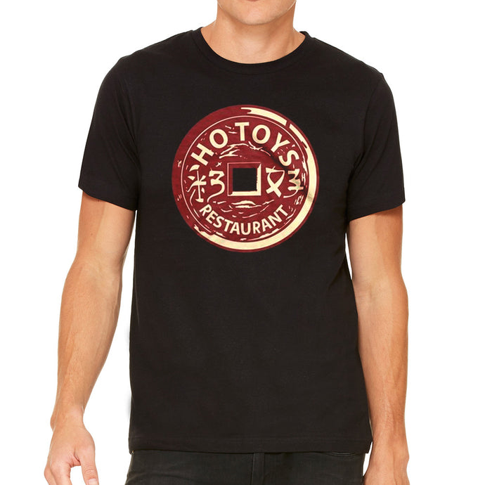 Ho Toys Restaurant Black Men's Black T-Shirt