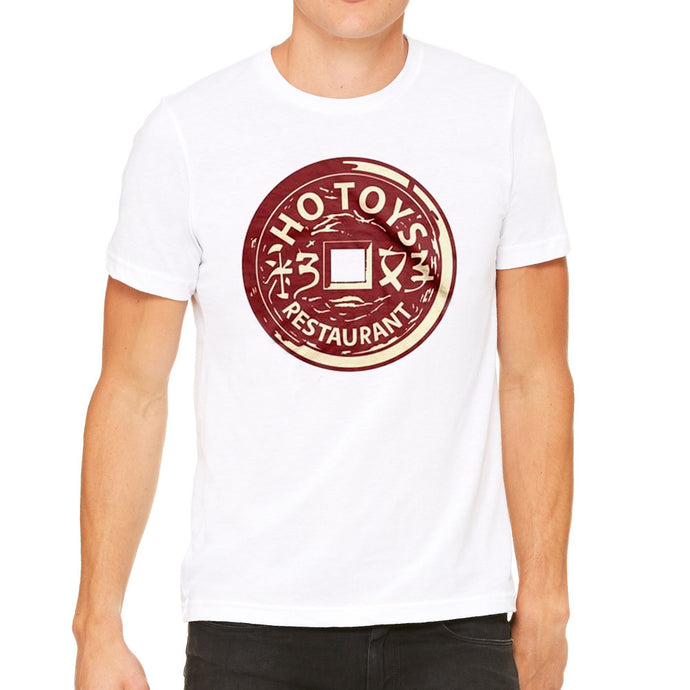 Ho Toys Restaurant White Men's White T-Shirt