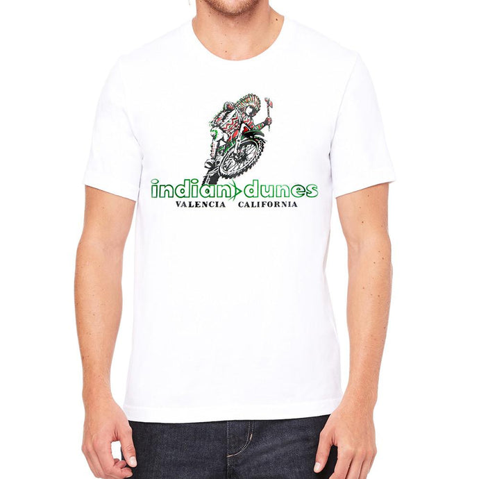 Indian Dunes OG White Mens T-Shirt