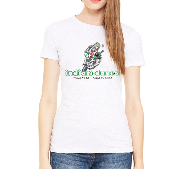 Indian Dunes Women's White T-Shirt