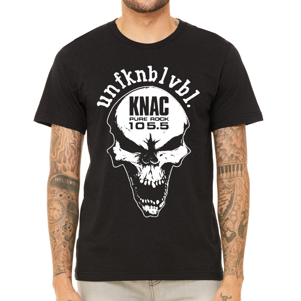 KNAC Skull Men's Black T-Shirt