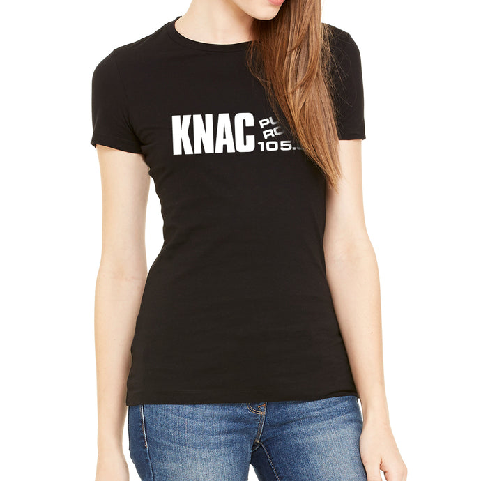 KNAC Women's Black T-Shirt