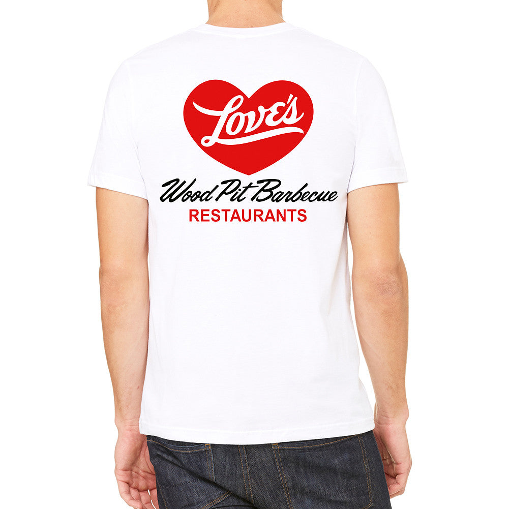 Love's BBQ White Men's T-Shirt