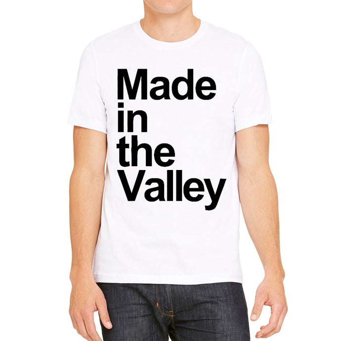Made in the Valley White Men's T-Shirt