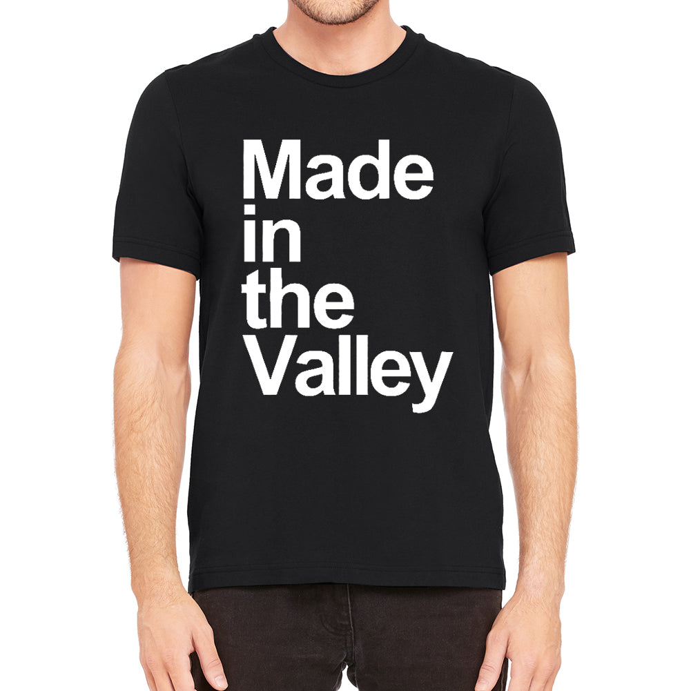Made in the Valley Men's Black T-Shirt