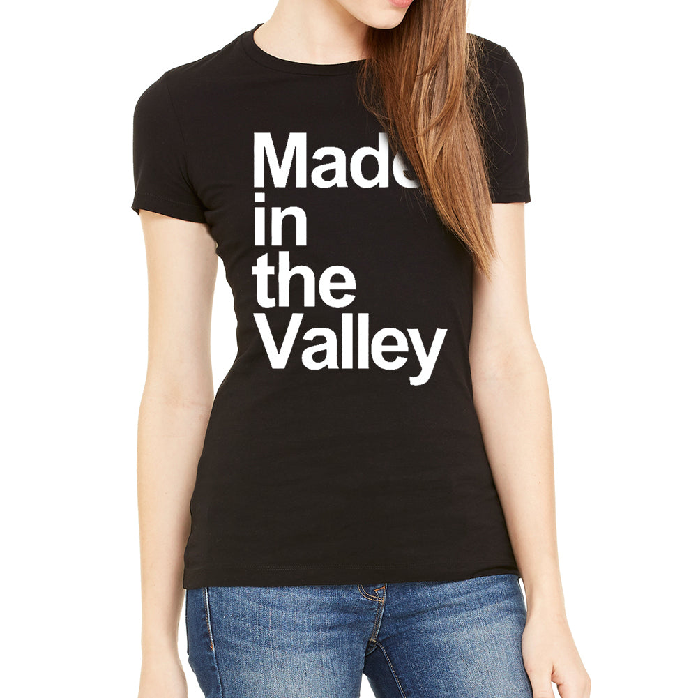Made in The Valley Women's Black T-Shirt