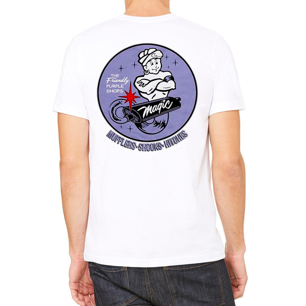 Magic Muffler Men's White T-Shirt