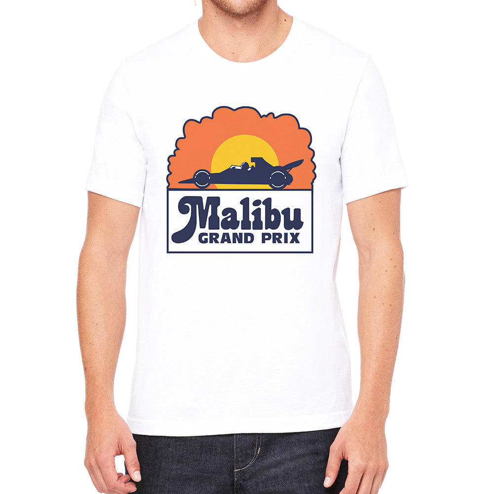Malibu Grand Prix White Men's T-Shirt