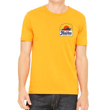 Malibu Grand Prix Men's Yellow T-Shirt